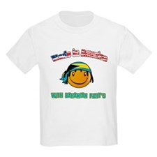 Made in America with Bahamian parts T-Shirt