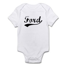 Vintage Ford (Black) Infant Bodysuit
