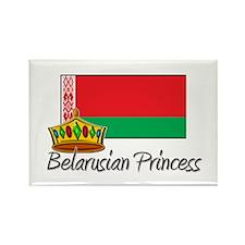 Belarusian Princess Rectangle Magnet