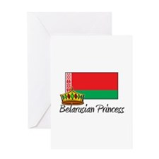 Belarusian Princess Greeting Card