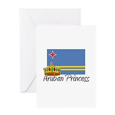 Aruban Princess Greeting Card
