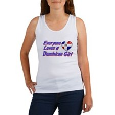 Everyone loves a Dominican girl Women's Tank Top