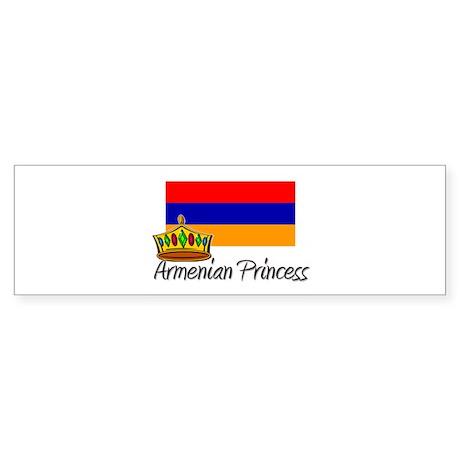 Armenian Princess Bumper Sticker