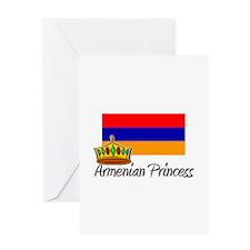 Armenian Princess Greeting Card