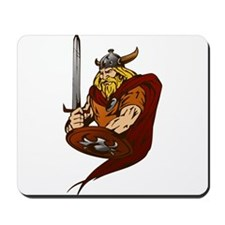 Viking Warrior Mousepad