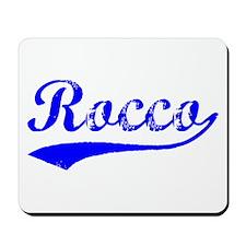 Vintage Rocco (Blue) Mousepad