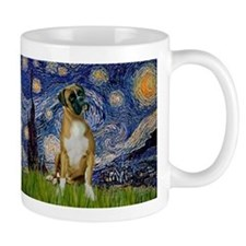 Starry Night & Boxer Mug