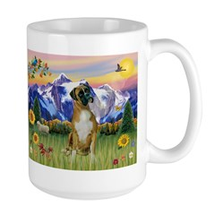 Boxer/Mountain Country Mug