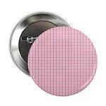 "Pink Plaid Tartan Gingham 2.25"" Button"