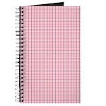 Pink Plaid Tartan Gingham Journal