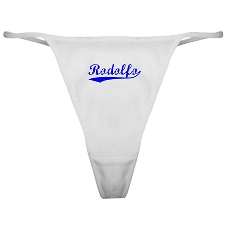 Vintage Rodolfo (Blue) Classic Thong