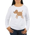 Dog design Women's Long Sleeve T-Shirt