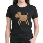 Dog design Women's Dark T-Shirt