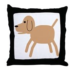 Dog design Throw Pillow