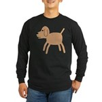 Dog design Long Sleeve Dark T-Shirt