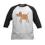 Dog design Kids Baseball Jersey