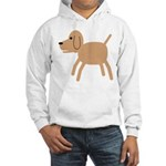 Dog design Hooded Sweatshirt