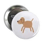 "Dog design 2.25"" Button (100 pack)"