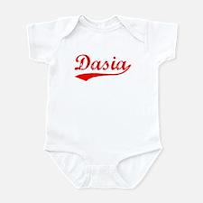 Vintage Dasia (Red) Infant Bodysuit