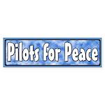 Pilots for Peace Bumper Sticker