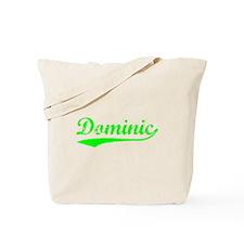 Vintage Dominic (Green) Tote Bag
