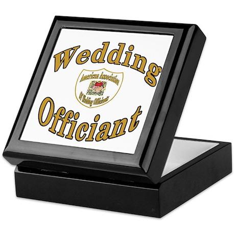 American Assn Wedding Officiants Keepsake Box