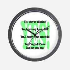 Unique Cause Wall Clock