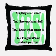 Funny Big lots Throw Pillow