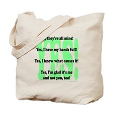 Funny Quiverfull Tote Bag