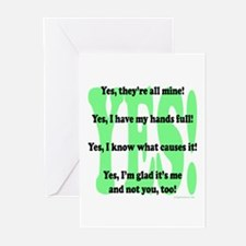 Yes Greeting Cards (Pk of 10)
