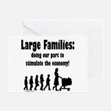 Unique Large family Greeting Card
