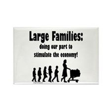 Cool Large family Rectangle Magnet