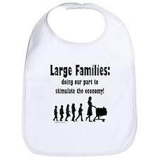 Cute Large family Bib