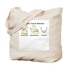 Know Your Bones/ABCs of SLPs Tote Bag