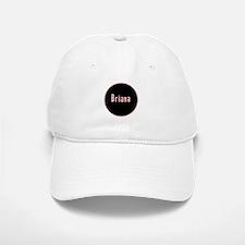 Briana - Pink Circle Baseball Baseball Cap