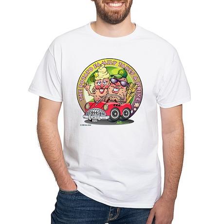 The Potato Family White T-Shirt