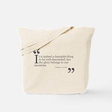 Glorious Ancestors Tote Bag