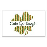 Erin Go Bragh Rectangle Sticker