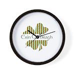 Erin Go Bragh Wall Clock