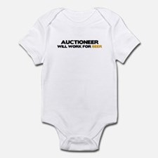 Auctioneer Infant Bodysuit