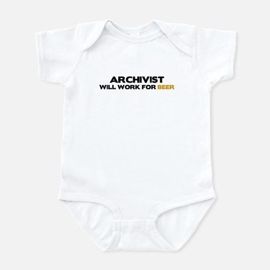 Archivist Infant Bodysuit
