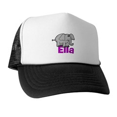 Ella - Elephant Trucker Hat