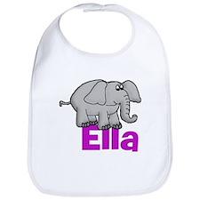 Ella - Elephant Bib