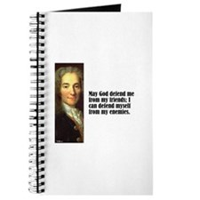 "Voltaire ""God Defend"" Journal"