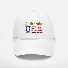 California USA Baseball Baseball Cap