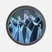 Clean Jeans Wall Clock