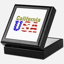 California USA Keepsake Box
