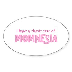 Momnesia Oval Decal