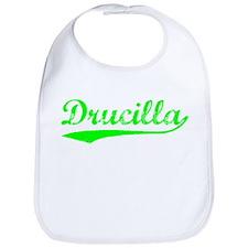 Vintage Drucilla (Green) Bib