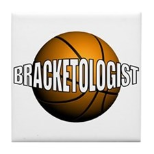 Bracketologist - Tile Coaster